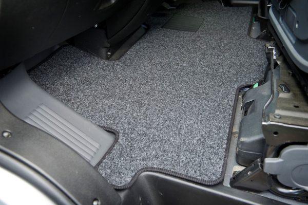 Motorhome cab mats