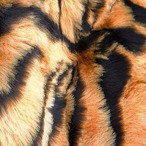 faux tiger seat cover