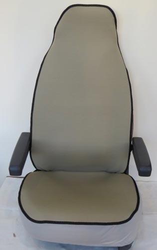Seat protector plain beige