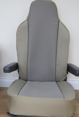 seat cover textured beige