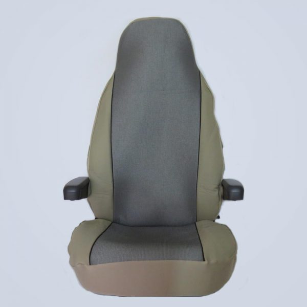 seat cover - silver/beige