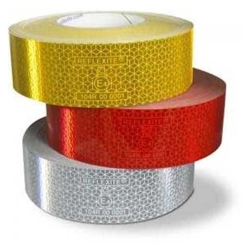 reflective tape in 3 colours